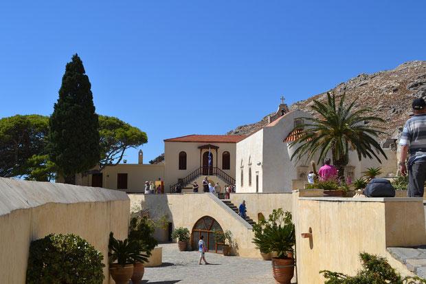 Многовековой монастырь Превели