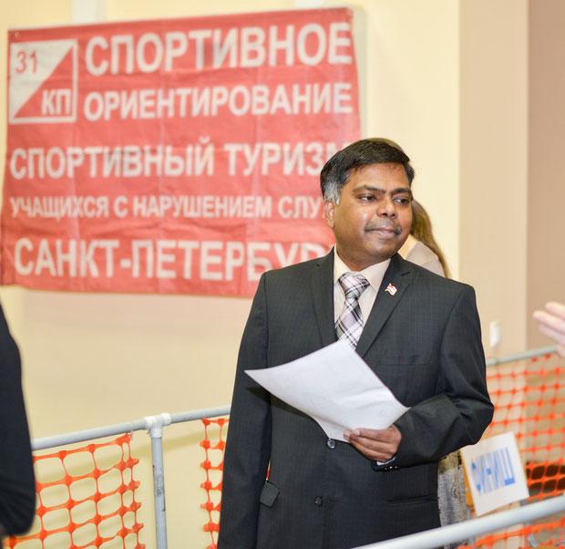 Генеральный Консул Индии в Санкт-Петербурге – г-н Вишвас Сапкал