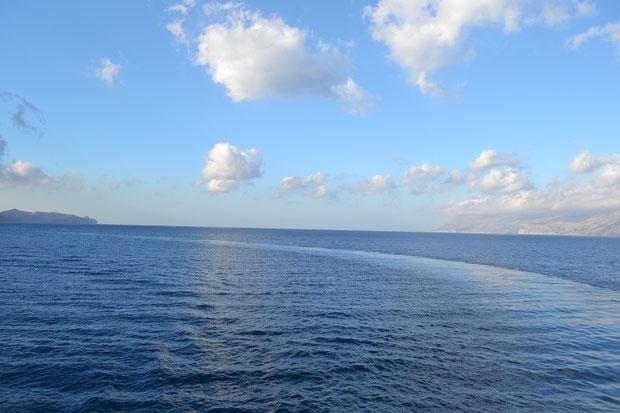 Бесконечное Критское (Эгейское) море!