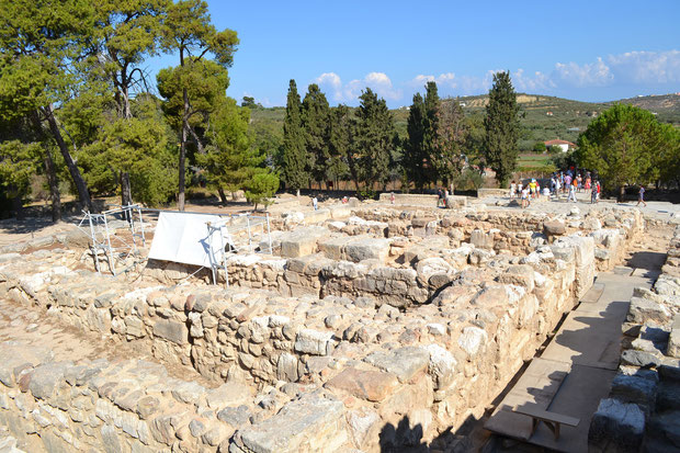 Миносский лабиринт, по которому бродил мифический Минотавр