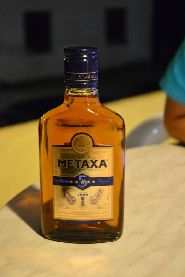 Греческий коньяк, напиток богов!