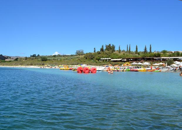 Озеро двух цветов