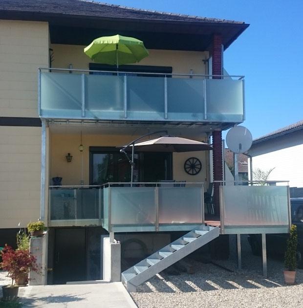 Balkon Sichtschutz Holz Praktiker : Balkon sichtschutz glasgelander ...