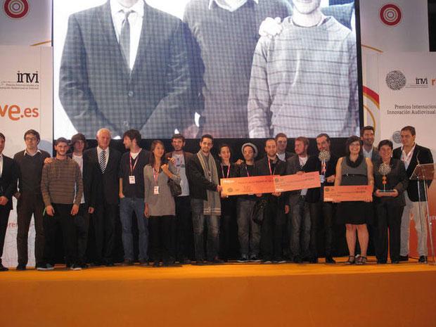 Gala Entrega Premios INVI durante el Congreso FICOD en Madrid