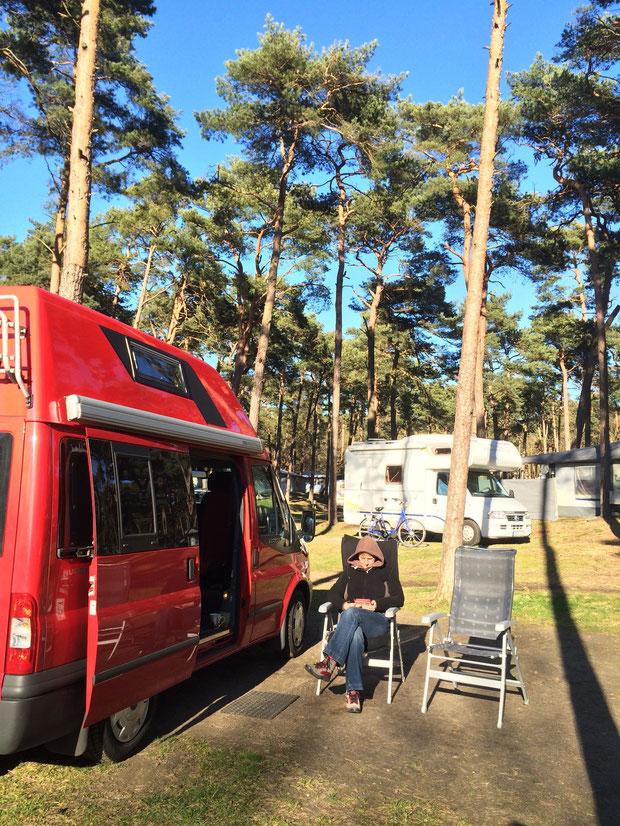 Camping in Zinnowitz