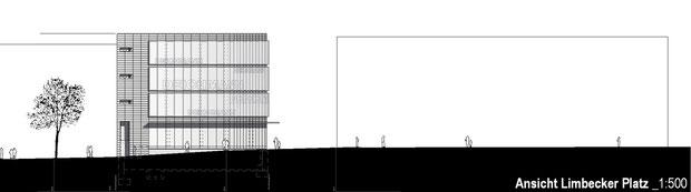 deichmann flagshipstore essen drahtler architekten dortmund planungsgrupe planung visualisierung architektur ansicht