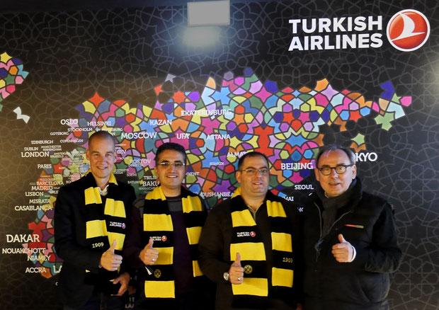 turkish airlines dortmund lounge signal iduna park drahtler architekten planungsgruppe dortmund