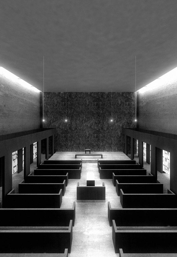 wettbewerb synagoge bochum drahtler architekten dortmund planungsgruppe DA