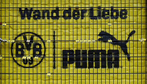 wand der liebe puma  | Signal Iduna Park | Dortmund drahtler architekten dortmund planungsgruppe
