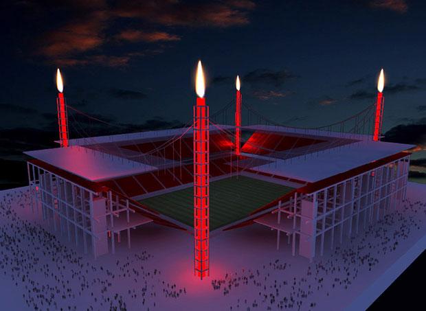 stadion köln adventskranz drahtler architekten planungsgruppe dortmund DA