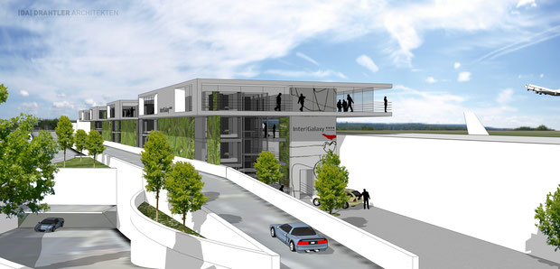 Hotelkonzept, AIRPORT 21, Dortmund Flughafen, Architektur, Drahtler Architekten, Holzwickede, Airport