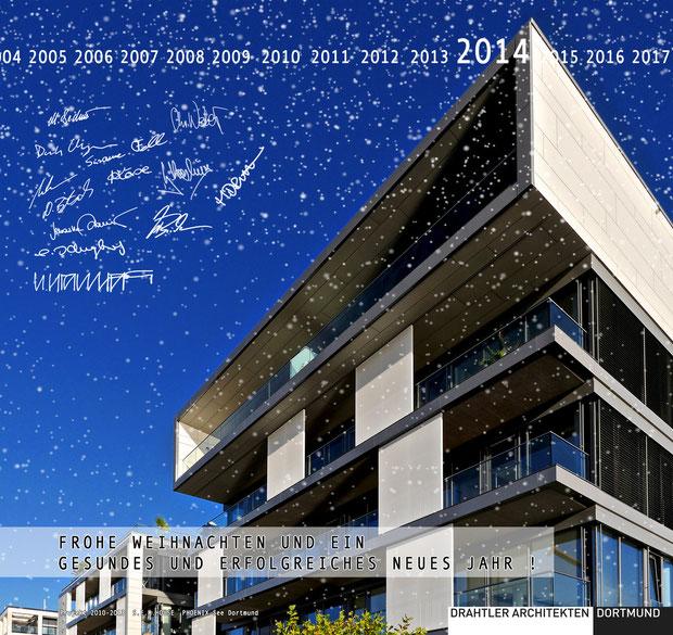 © drahtler-architekten 2013 (Weihnachtskarte 2013)