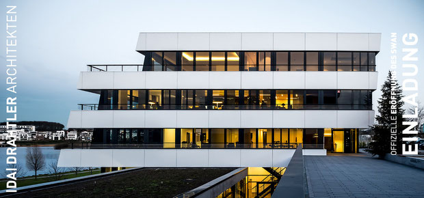offizielle eröffnung des SWAN 2016 phoenix see dortmund hörde drahtler architekten planungsgruppe
