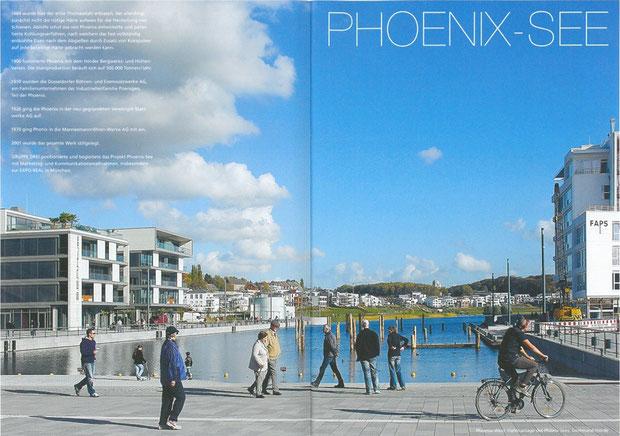 (Foto Gruppe3) PHOENIX See Yachthafen mit Blick auf das S.E.A.House