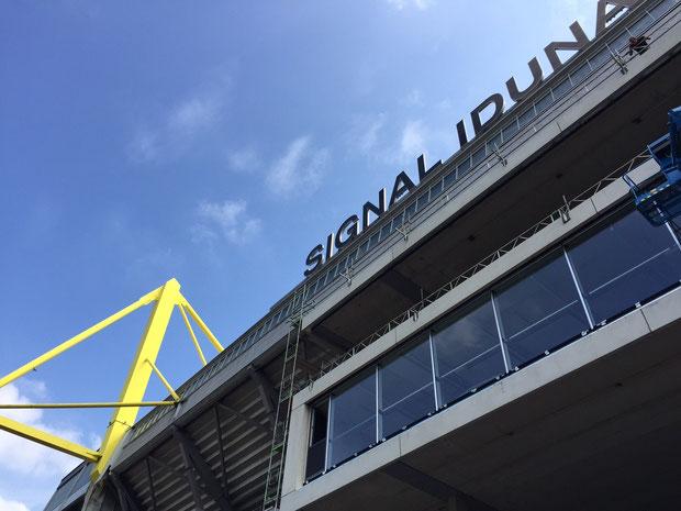 BVB  Erweiterung WEST Signal Iduna Park drahtler architekten planungsgruppe stadtion dortmund borussia