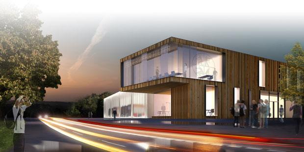 Feuerwehrhaus hilter a.T.W. drahtler architekten planungsgruppe dortmund visualisierung 2013