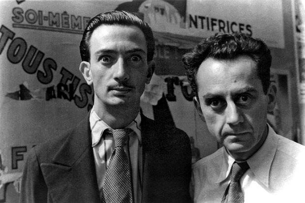 Edward James y Salvador Dalí.