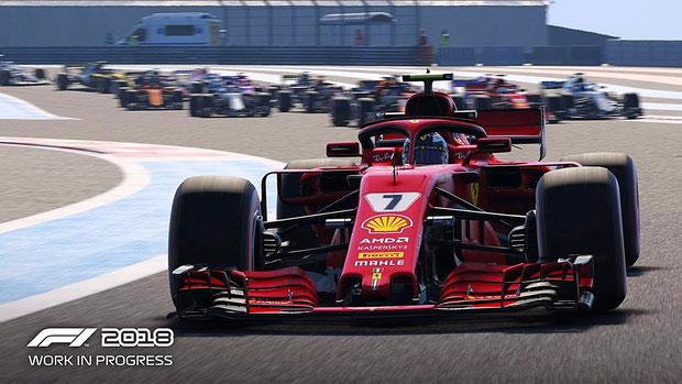 Formel 1 Spiele: F1 2018
