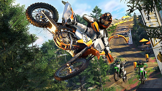 The Crew 2: Motocross-Rennen
