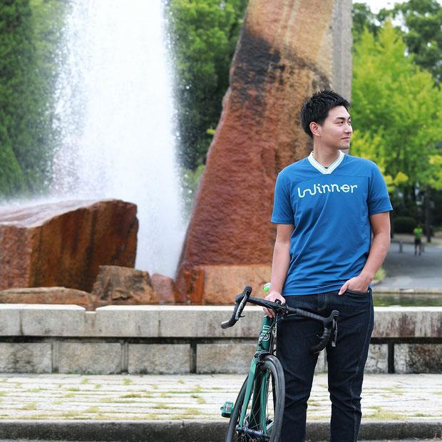 半袖、サイクルジャージ、吸水速乾、UVカット、ロードバイク、クロスバイク、スポーツウェア