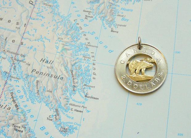 Münzsägewerk Katrin Thull | Kanada - Eisbär 2 Dollar