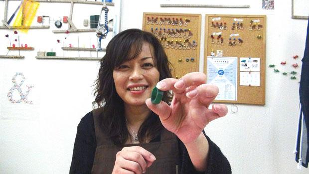 東京で手作りするアニバーサリーリング
