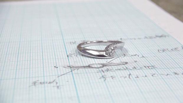 世界にたったひとつの婚約指輪