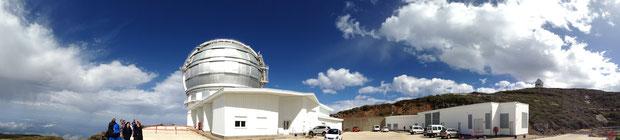 Gran Telescopio de Canarias Panorama
