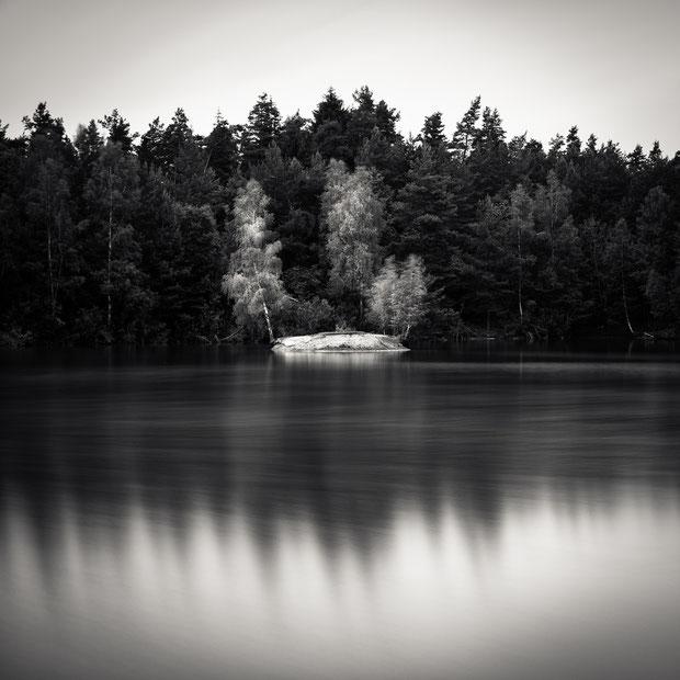 Jägersee (Copyright Martin Schmidt, Fotograf für Schwarz-Weiß Fine-Art Architektur- und Landschaftsfotografie aus Nürnberg)