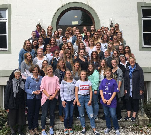 Schulgemeinschaftstag in Benediktbeuern 2018