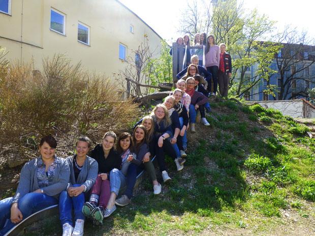Schuljahr 2014/15  Kurs 1 (Appel) der Fachakademie