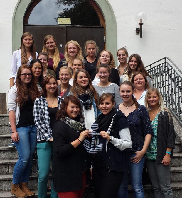 Schuljahr 2015/16 Kurs 2 (Appel) der Fachakademie für Sozialpädagogik