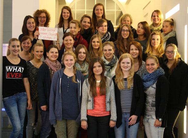 Schuljahr 2014/15  Sozialpädagogisches Seminar II (Kurs Anthor)