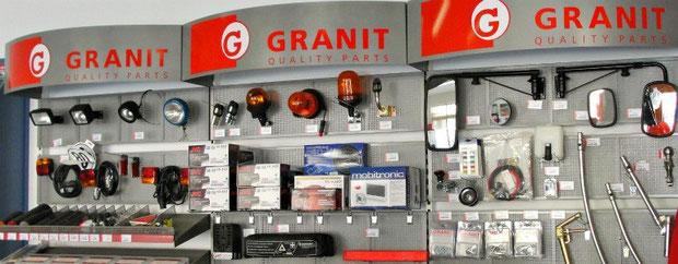 Granit Ersatzteilbeschaffung