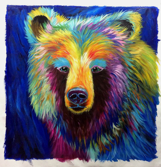 peinture-impressionniste-animaliere