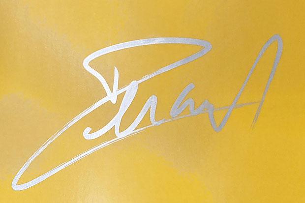 Autograph Armand Lavillenie Autogramm