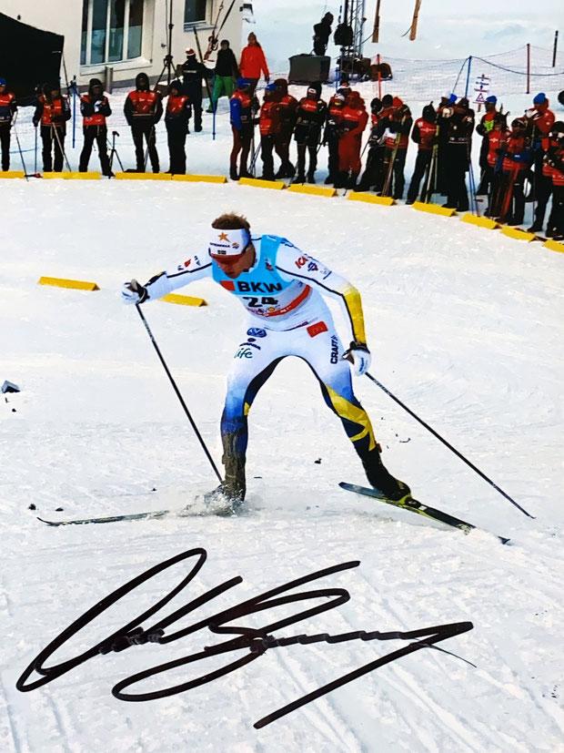 Autograph Oskar Svensson Autogramm
