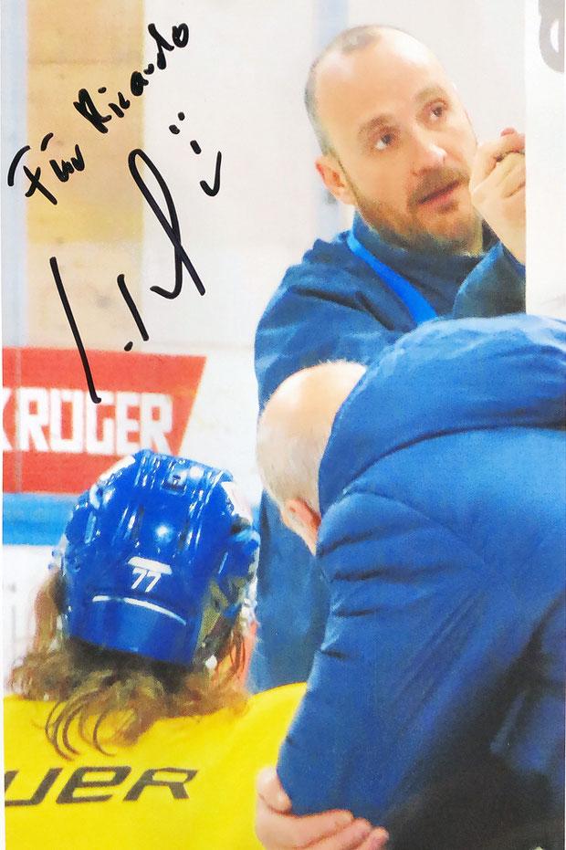 Autograph Christian Wohlwend Autogramm