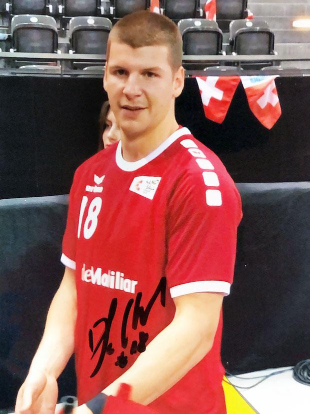 Autograph Dimitrij Küttel Autogramm
