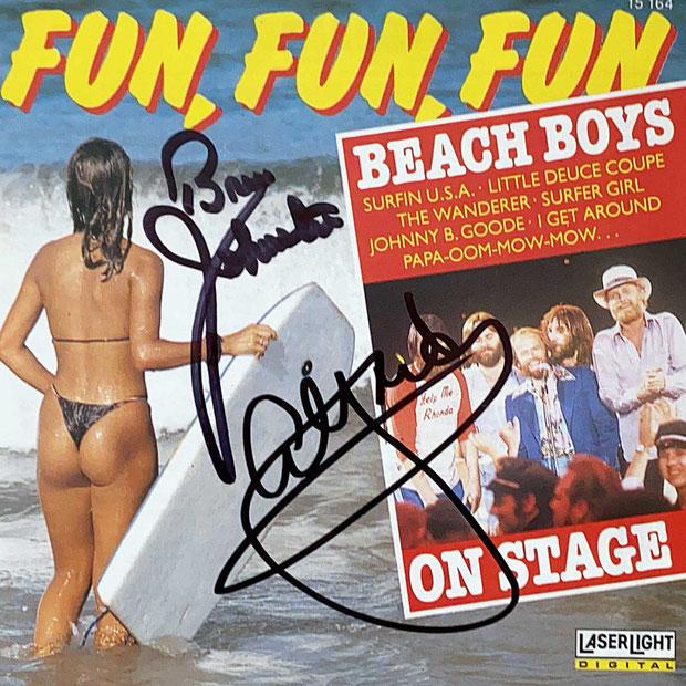Autograph Bruce Johnston Autogramm