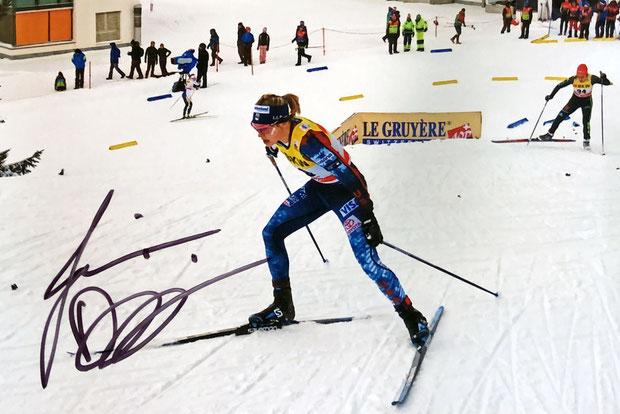 Autogramm Jessica Diggins Autograph