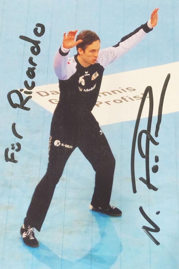 Autograph Nikola Portmann Autogramm