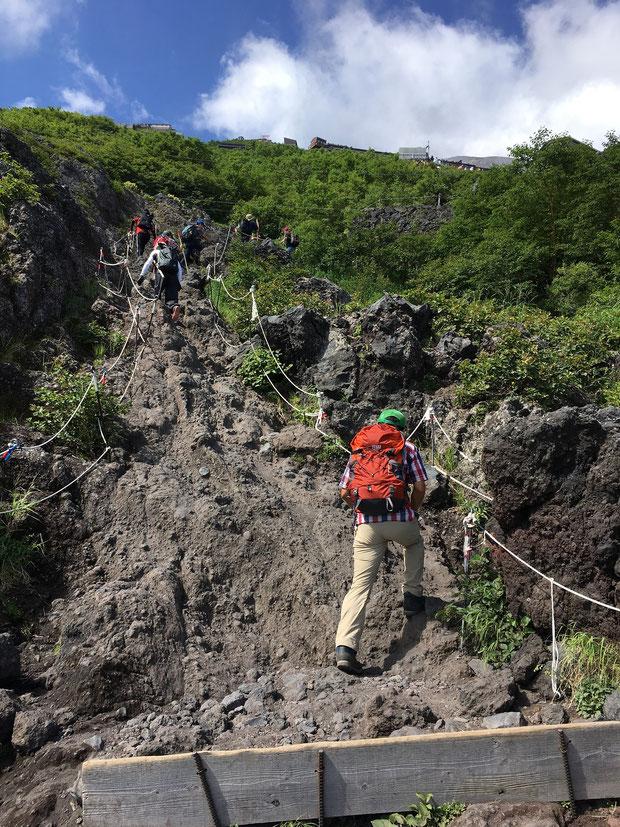 オサモミ整体院 富士山登山 歩行訓練