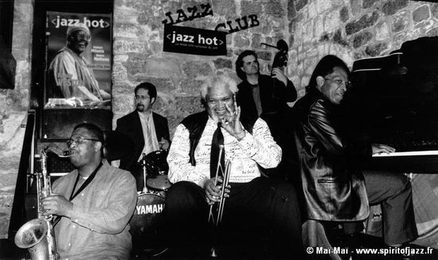 Ray Blue, Ted Curson, Michel Sardaby @ Franc-Pinot, Paris (2003)