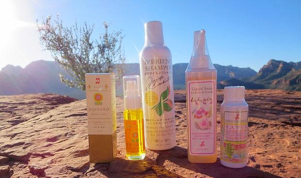 ❦ 天然の美の雫 アリゾナ砂漠の美宝 ホホゴールド