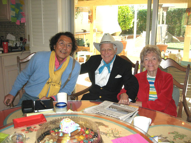 ♔ 先駆者オブライエンズ御夫妻《アリゾナ州ハクアハラヴァレー開拓者》と弊社渡邊代表