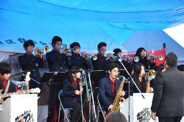 京都府立工業高等学校によるManbou Jazz Concert