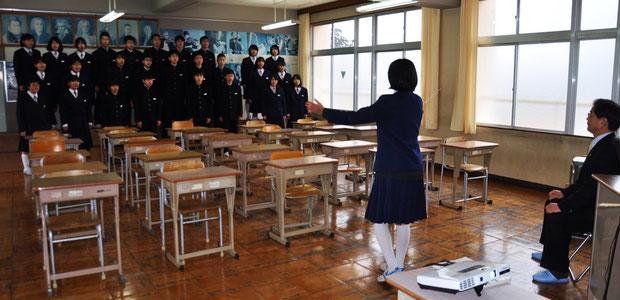 豊里中学校(1.20)