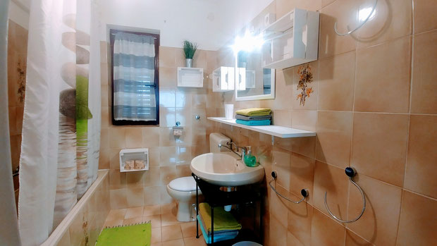 Green apt. - bathroom -  Belvedere apartments Izola