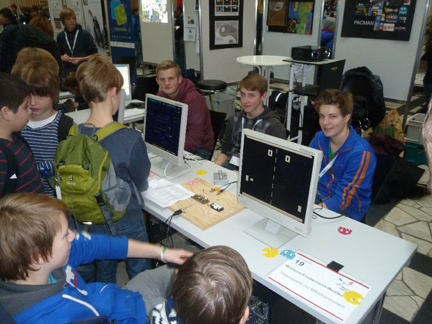 Schülermesse Technik verbindet 2012